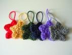 mini crochet stars