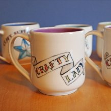crafty lady mug
