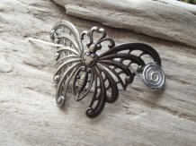 butterfly shawl pin