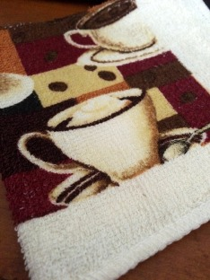 coffee cafe kitchen towels