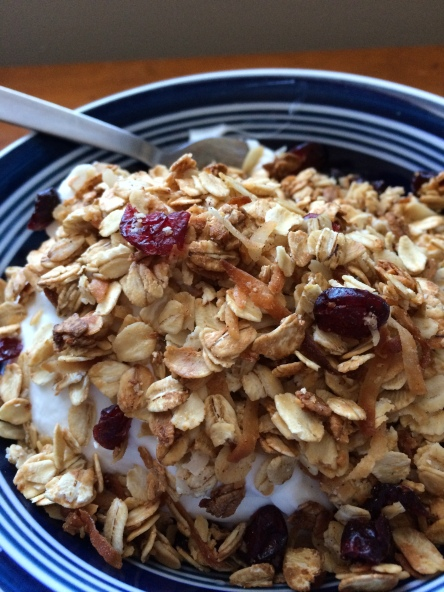 easy fast granola recipe