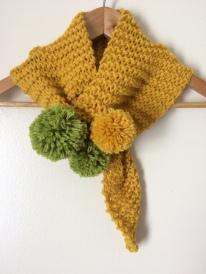 New keyhole scarf