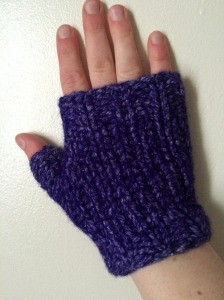 semi-felted gloves