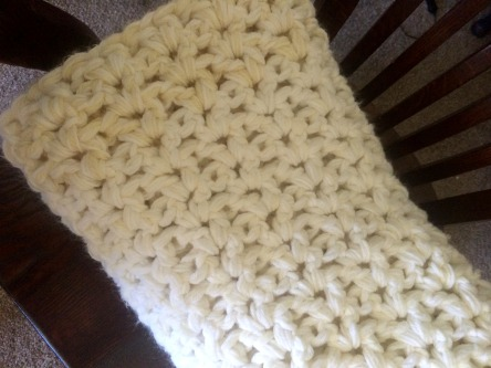 Crocheted in the V-stitch